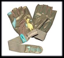 Перчатки для фитнеса женские Mad Max  Voodoo (арт-MFG921bl) - фото 4357