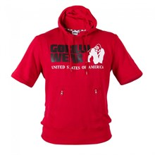"GW Футболка с капюшоном красная  ""Boston"" - фото 5353"