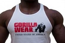 Gorilla Wear Майка мужская  Сlassic (белая) - фото 5413