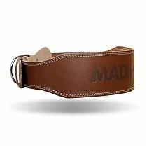 Пояс для фитнеса кожанный MadMAX(MFB-246) - фото 5457