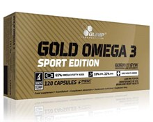 Olimp Gold Omega 3 Sport Edition (120 капс) - фото 5529