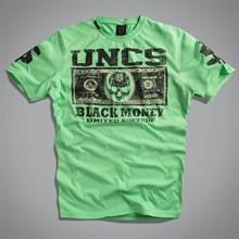 Футболка мужская (Money T-Shirt зеленая) UNCS - фото 5675