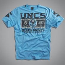 Футболка мужская (Money T-Shirt синия ) UNCS - фото 5679