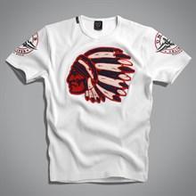 Футболка Indian T-Shirt UNCS (белая) - фото 5722