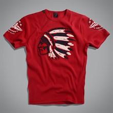 Футболка Indian T-Shirt UNCS (красная ) - фото 5728