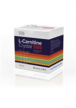 L-Carnitine Crystal 5000 (20x25 ml) - фото 5736