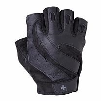 """Перчатки  для фитнеса HARBINGER(""""Pro Wash&Dry"""") черные  - фото 5761"""