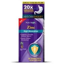 Natrol Zink (60 Chewable Tab) - фото 5781