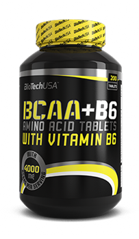 BioTech  BCAA+B6 (340 tab) - фото 5901