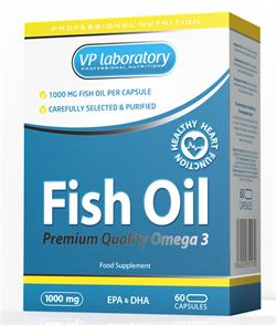 VpLab Fish Oil 1000 (60cap) - фото 5917