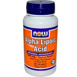 Alpha Lipoic Acid 250mg NOW (60cap) - фото 5929