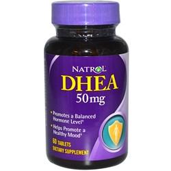 DHEA 50 mg Natrol (60 tab) - фото 5932