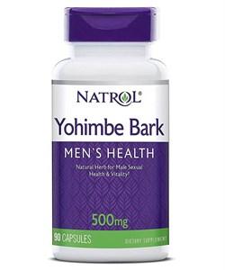 Yohimbe Bark 500mg Natrol (90cap) - фото 5933