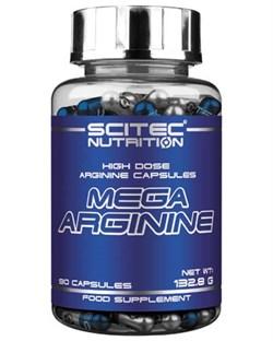 Mega Arginine 90 капс (Scitec Nutrition) - фото 5947