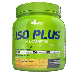 Изотоник Olimp Sport Nutrition  Iso Plus+L-Carnitine (700gr.) - фото 5948