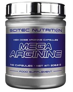 Mega Arginine 140 капс (Scitec Nutrition) - фото 5980