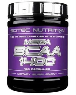 Mega BCAA 1400 Scitec Nutrition (180 капс) - фото 5982
