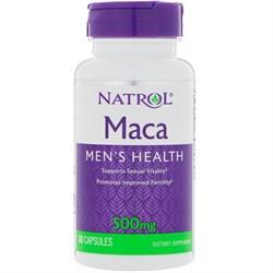 Natrol Maca Mens Health 500mg (60cap) - фото 6021