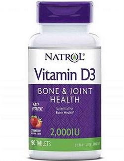 Natrol Vitamin D3 2.000 (90tab) - фото 6024