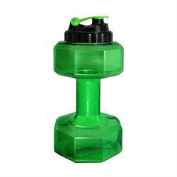 Бутылка-гантеля для воды BeFirst (2200ml) - фото 6028