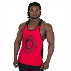 "Майка для фитнеса Gorilla Wear ""Roswell"" красно-черная - фото 6051"