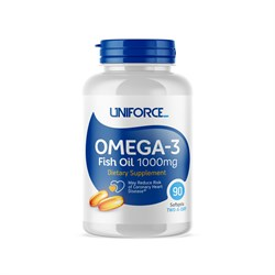 Uniforce Omega-3 1000 mg  (90 cap) - фото 6189