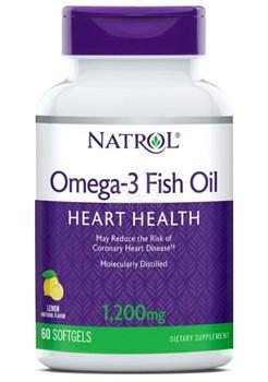 Natrol Omega-3 Fish Oil 1200 (60 soft) - фото 6198