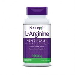 Natrol L-Arginine 1000 mg (50 tab) - фото 6204