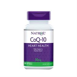 Natrol CoQ-10 50mg (60 soft) - фото 6209