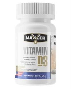 Maxler Vitamin D3 (180 tab) - фото 6244