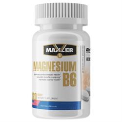 Maxler Magnesium B6 (120 tab) - фото 6249