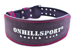 ONHILLSPORT Пояс атлетический 60/150, пряжка, 2х-слойный - фото 6461