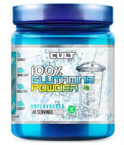 100% Glutamine powder 200 гр (Cult) - фото 6508