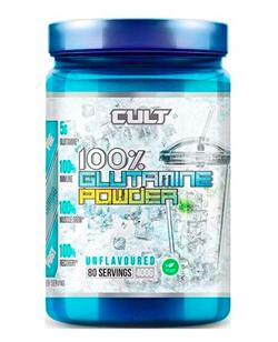 100% Glutamine powder 400 гр (Cult) - фото 6509