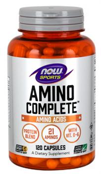 Amino Complete  (NOW)  120caps - фото 6531