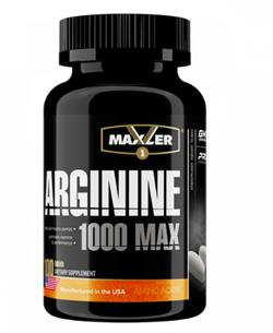Maxler Arginine 1000 MAX  (100tab) - фото 6567