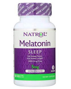 Natrol Melatonin 5mg (60 tab) - фото 6573