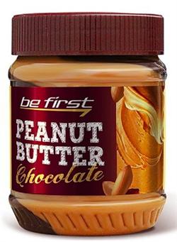 Be First Арахисовая паста Chocolate (с шоколадом) 340 гр - фото 6651