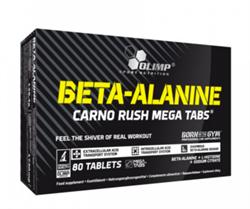 Olimp Beta-Alanine Carno Rush  mega tabs (80tab) - фото 6657