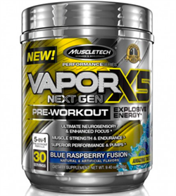 MuscleTech Vapor X5 Next Gen Pre-Workout  (244-272gr) - фото 6662