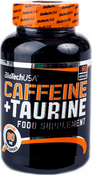 BioTech Caffeine & Taurine  (60caps) - фото 6670