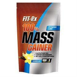 FitRx 100% Mass Gainer (900г) - фото 6758