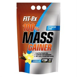 FitRx 100% Mass Gainer (2700г) - фото 6760