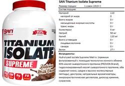 SAN Titanium Isolate Supreme (2240г) - фото 6780