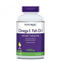 Omega-3 Fish Oil Natrol (60 soft) - фото 6825