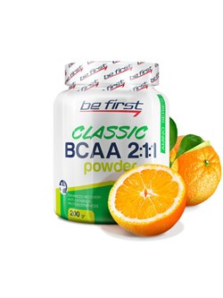 Be First BCAA Classic Powder (200 gr) - фото 6836