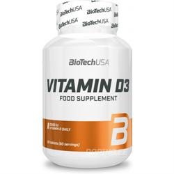 BiotechUSA Vitamin D3 2000 IU (60 tab) - фото 6843