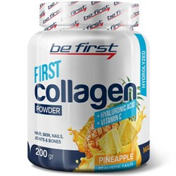 Be First Collagen Powder+Hyaluronic Acid ( 200 гр) - фото 6854