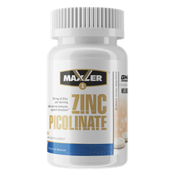 Maxler Zinc Picolinate 50 mg (60 tab) - фото 6954