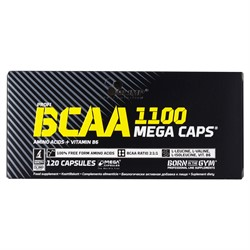 BCAA 1100 MegaCaps (120 cap ) Olimp - фото 6971